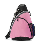SCOUT | sling backpack | black/pink
