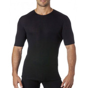 mens tshirt short sleeve - pure merino wool