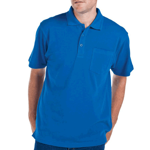 WINSTON | mens short sleeve polo | chest pocket
