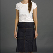 STITCH | denim half apron with pocket