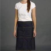 STITCH | denim half apron with pocket