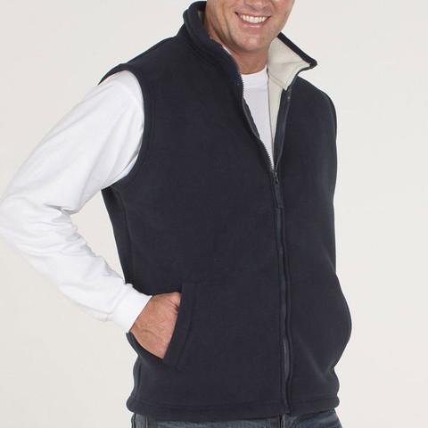 SHEPHERD | contrast fleecy vest