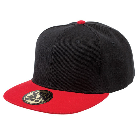 urban snap back cap black.red wholesale online