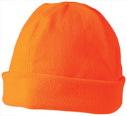 wholesale polar fleece beanies Fluoro Orange