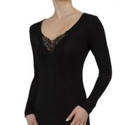 women long sleeves merino thermal base layer online clothing