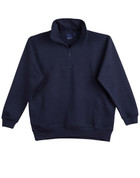 PLUS SIZE sweaters half-zip Navy