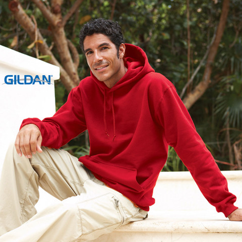 Gildan | adult fleece plain hoodies