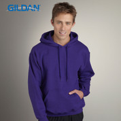 Gildan | adult fleece plain hoodie wholesale