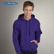 Gildan | adult fleece plain hoodie wholesale