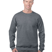 dark heather blank sweater | gildan clothing