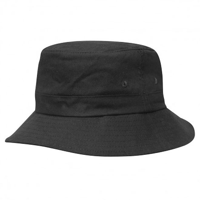 0a98b7d59da Kids Plain Cotton Twill Bucket Hat