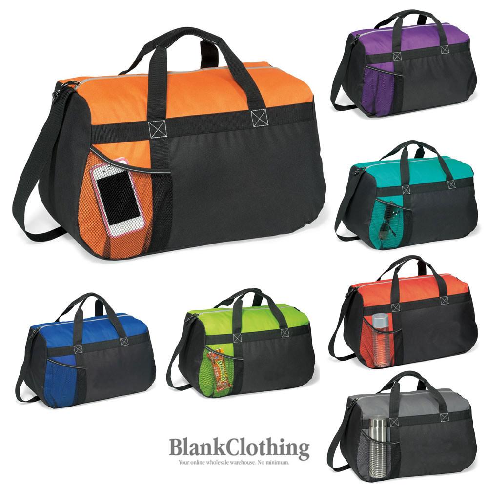 Details about Plain Sports Duffle Bag  a2c3f767ab657