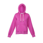 womens/youth heather hoodie | hot pink