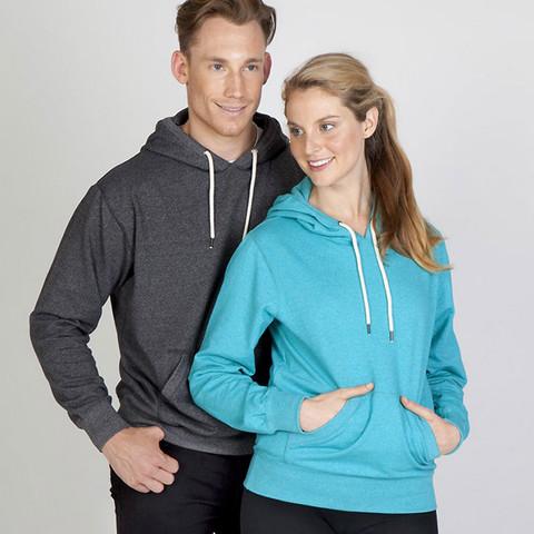 lightweight blank heather hoodies | wholesale