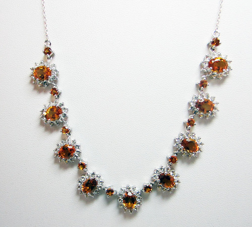 Santa Ana Madeira Citrine Necklace