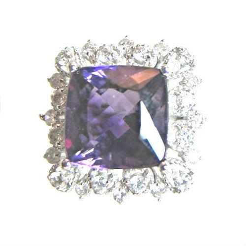 Siberian Amethyst Ring