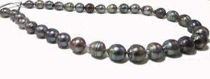 Baroque Tahitian Pearl Necklace (8-10mm)