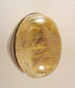 Rutilated Quartz Designer Ring