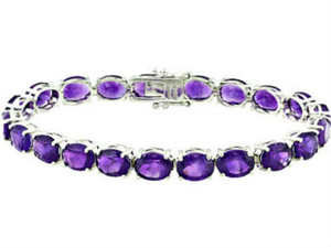 Amethyst Bracelet (37 ctw)