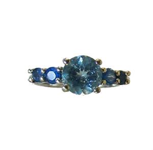 Neon Apatite Ring - Rare Find!