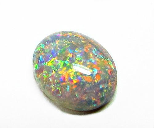 multi-colored australia black opal