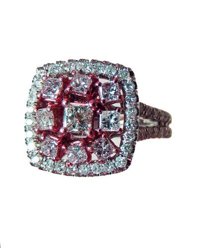 Argyle Fancy Pink Diamond Ring