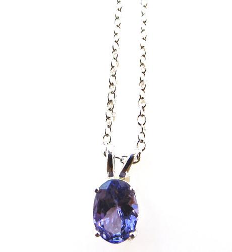 tanzanite pendant