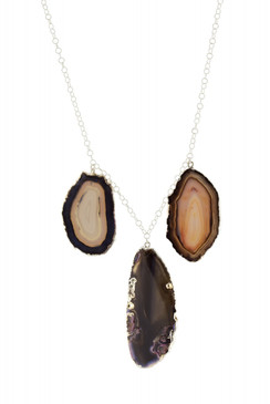 Multi-Agate Necklace