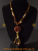 Stunning beaded assorted beads fashion necklace