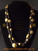 Lovely mixed beaded fashion necklace