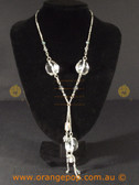 Clear detailed women's necklace