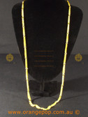 Fine gold look necklace