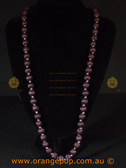 Purple women's necklace