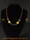 Classy Multi coloured women's necklace