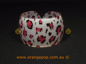 Animal print women's cuff/bracelet