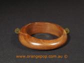 Simple wooden women's cuff