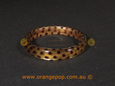 Animal print inspired women's cuff