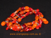 Orange coloured bracelet