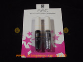 Napoleon Perdis Set Black and Silver Glitter Liquid Eyeliner Limited Edition