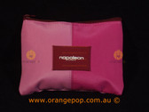 Napoleon Perdis Limited Edition Two toned Pink tease makeup bag (small)