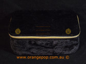 Napoleon Perdis Limited Edition Black Suede look makeup bag