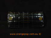 Napoleon Perdis Limited Edition Quilted pattern Black makeup bag/clutch
