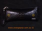 Napoleon Perdis Limited Edition Black Snake print clutch/purse makeup bag