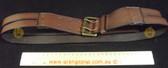 Espirt Brown Leather Women's Ladies Fashion Belt