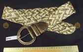 Mixed Metallic Bronze Women's Ladies Fashion Belt