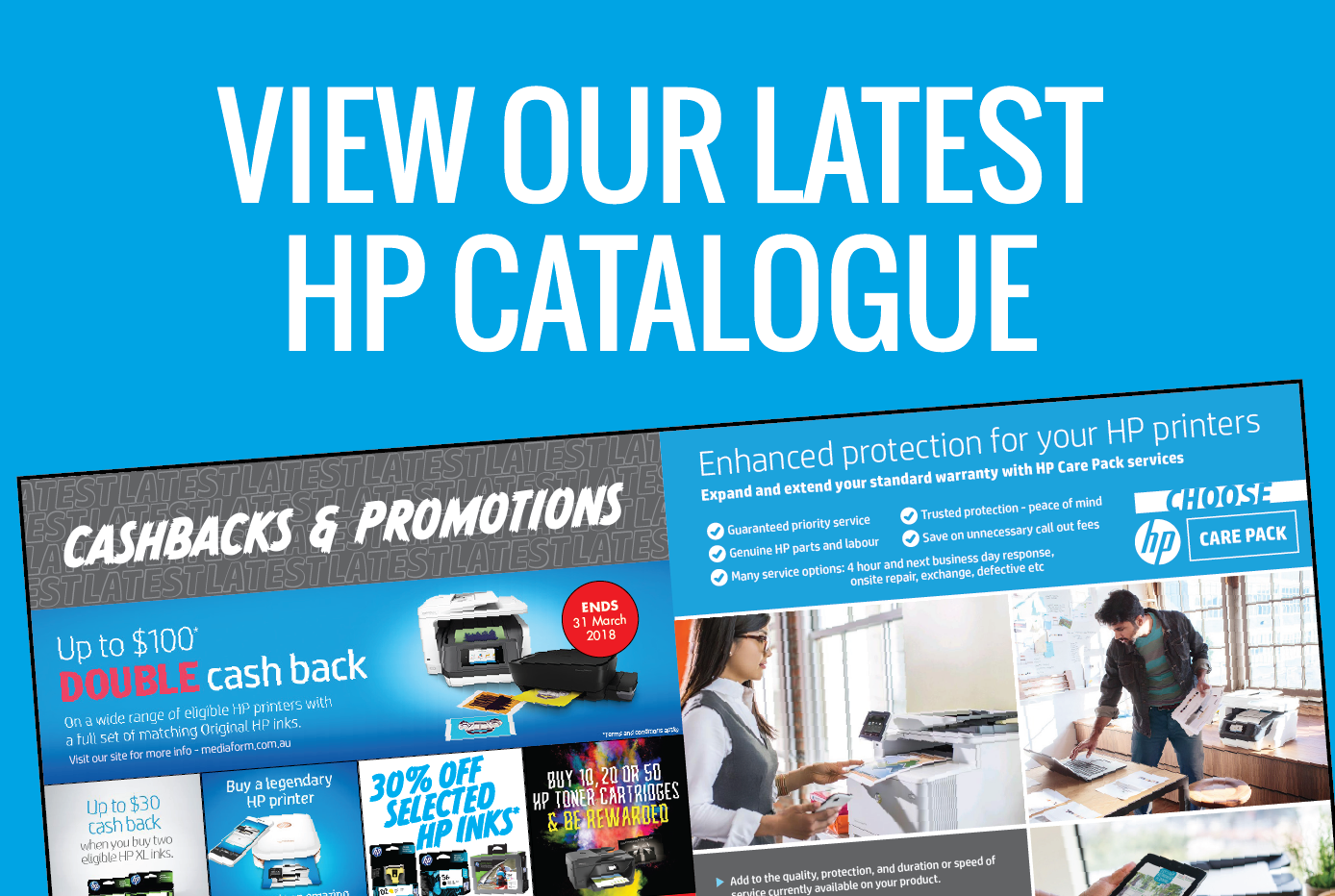 View our latest HP catalogue