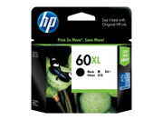 HP 60XL BLACK INK, 600 PAGE YIELD FOR DJ D2500, D2530 & F4200