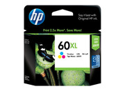 HP 60XL TRI-COLOUR INK, 440 PAGE YIELD FOR DJ D2500, D2530 & F4200