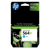HP 564XL CYAN INK 750 PAGE YIELD FOR D5400