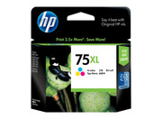 HP 75XL TRI-COLOUR INK 520 PAGE YIELD FOR D5360, D4260 & D4360